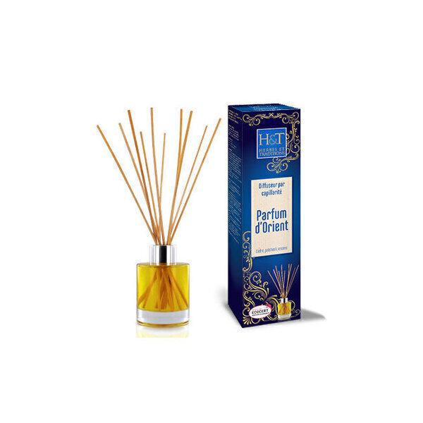 Herbes et Traditions - Diffuseur par capillarité Parfum d'Orient - HE bio 100ml