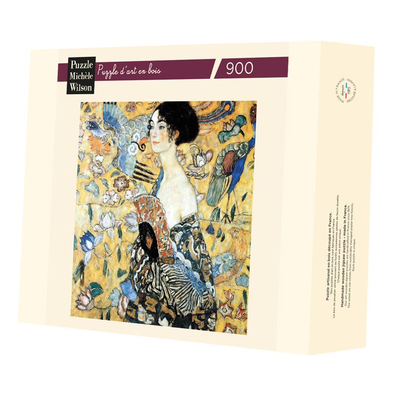 Michèle Wilson - La dame à l'éventail de Klimt