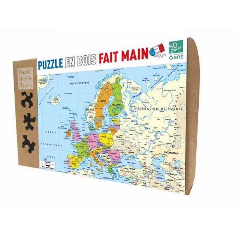 Michèle Wilson - Carte d'Europe