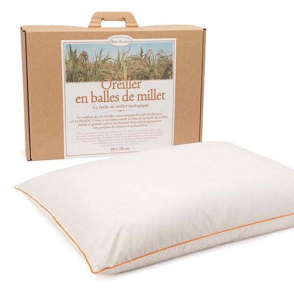 Mille oreillers - Oreiller en balles de Millet - 50 x 70 cm