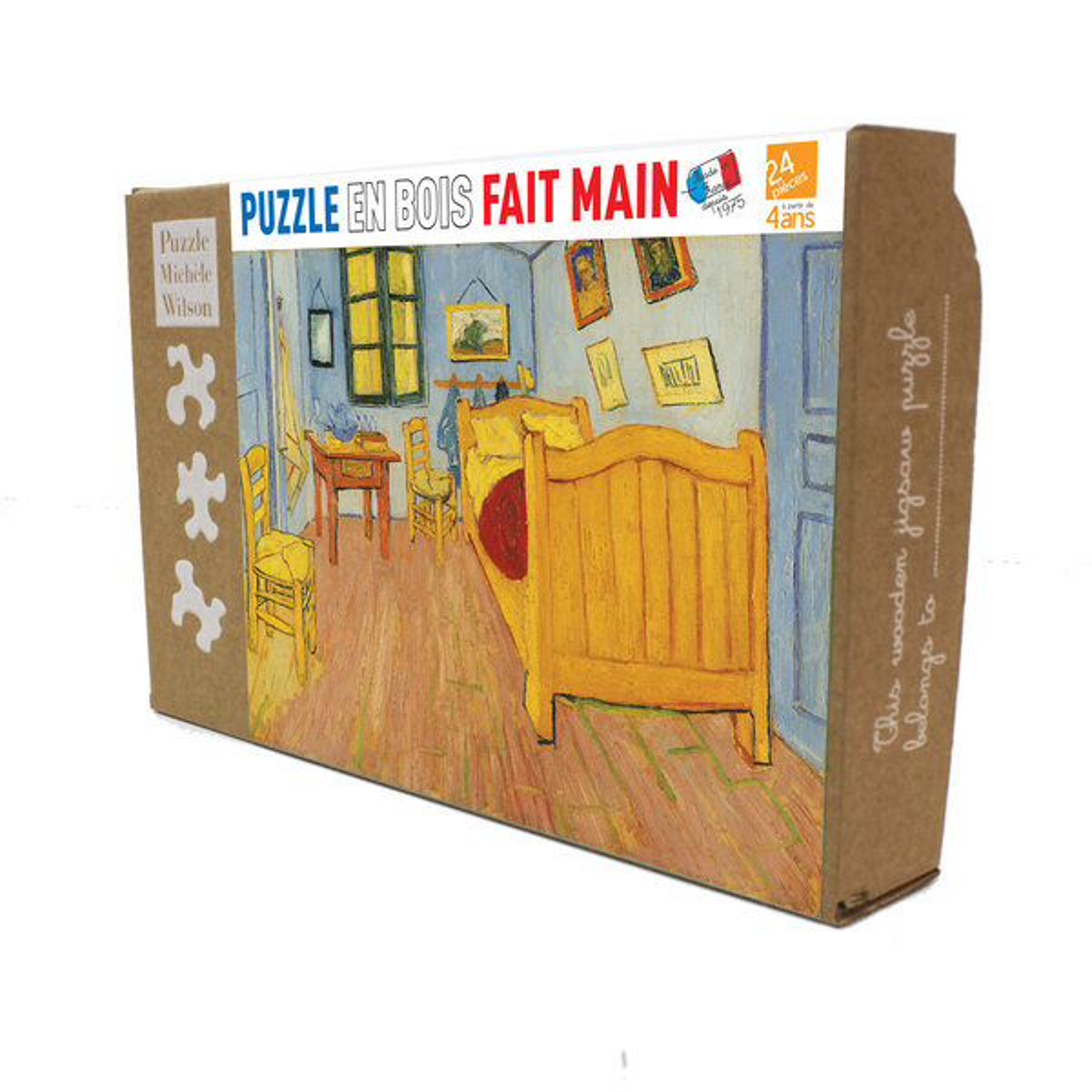 Michèle Wilson - La chambre à Arles de Van Gogh