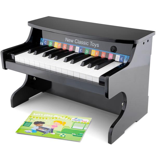 New Classic Toys - Piano Electronique noir - 25 touches