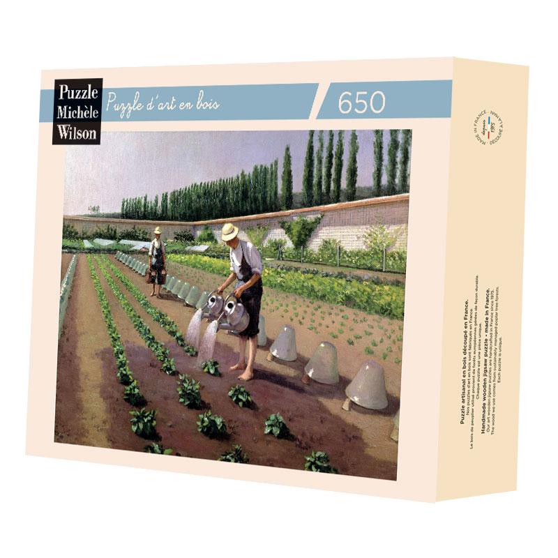 Michèle Wilson - Les jardiniers de Caillebotte