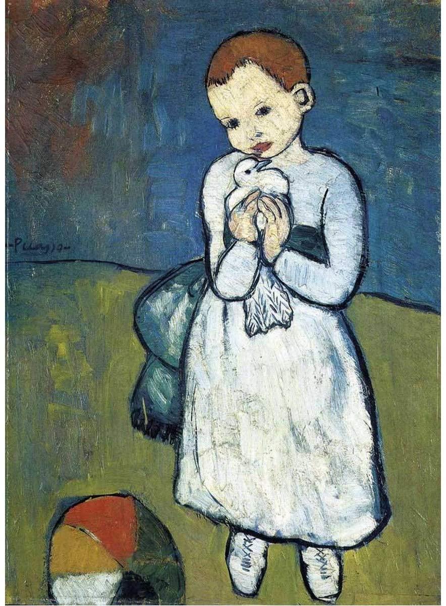 Michèle Wilson - L'enfant à la colombe de Picasso