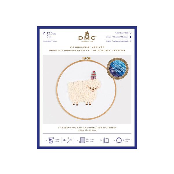 DMC - Kit broderie Le Mouton Cadeaux