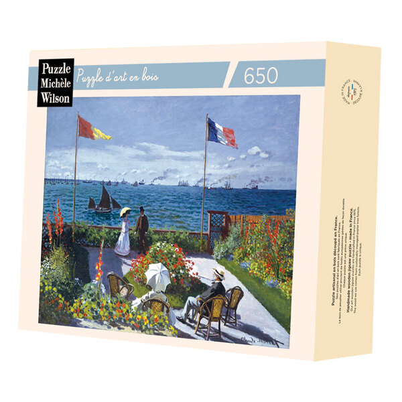 Michèle Wilson - Terrasse à Sainte Adresse de Monet