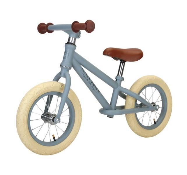Little Dutch - Vélo d'équilibre Bleu Mat