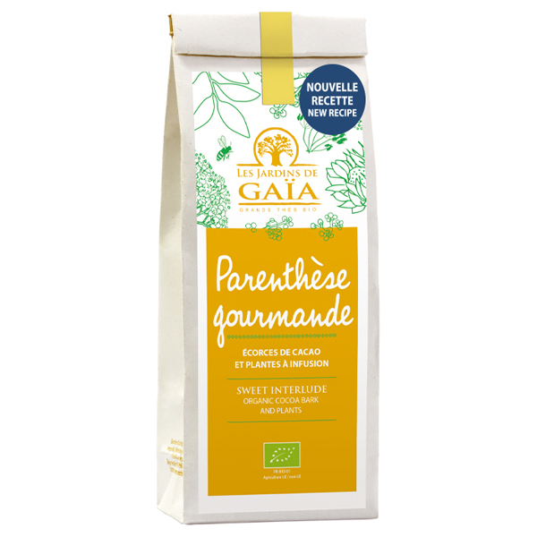 Les jardins de Gaïa - Parenthèse gourmande - Ecorces de cacao et plantes - NEW