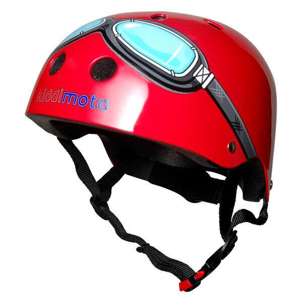 Kiddimoto - Casque Red Goggle SMALL