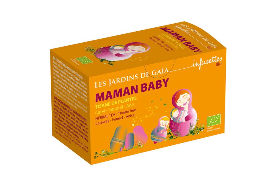 Les jardins de Gaïa - Maman Baby - Allaitement - Carvi, Fenouil, Anis