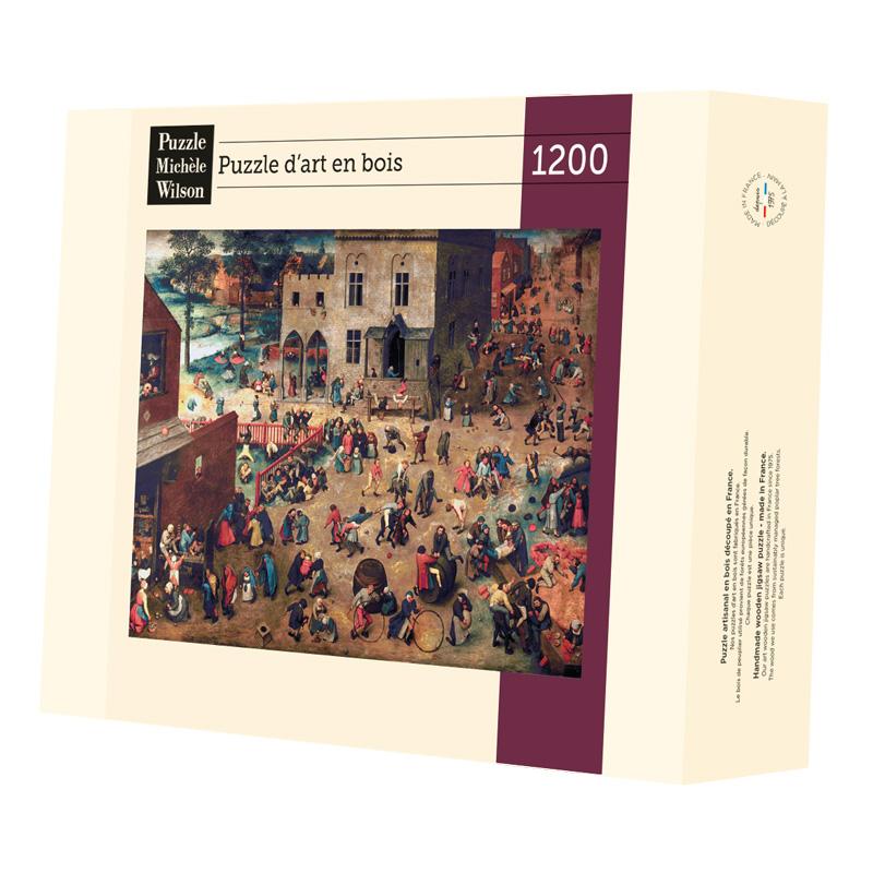 Michèle Wilson - Jeux d'enfants de Bruegel
