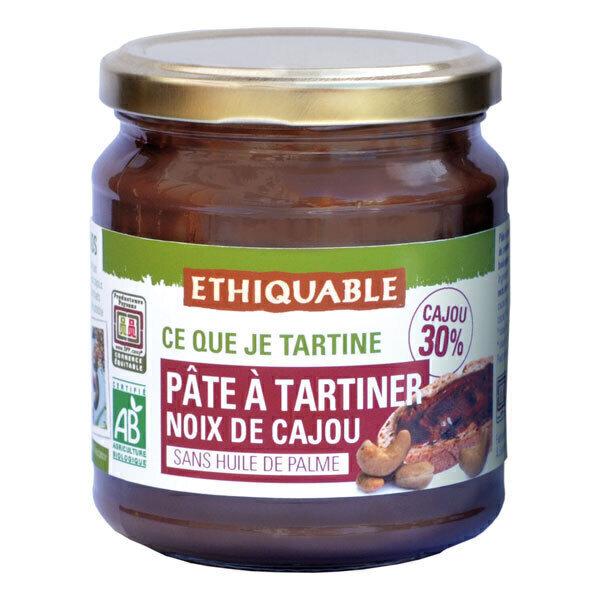 Ethiquable - Pâte à tartiner noix de cajou 300g