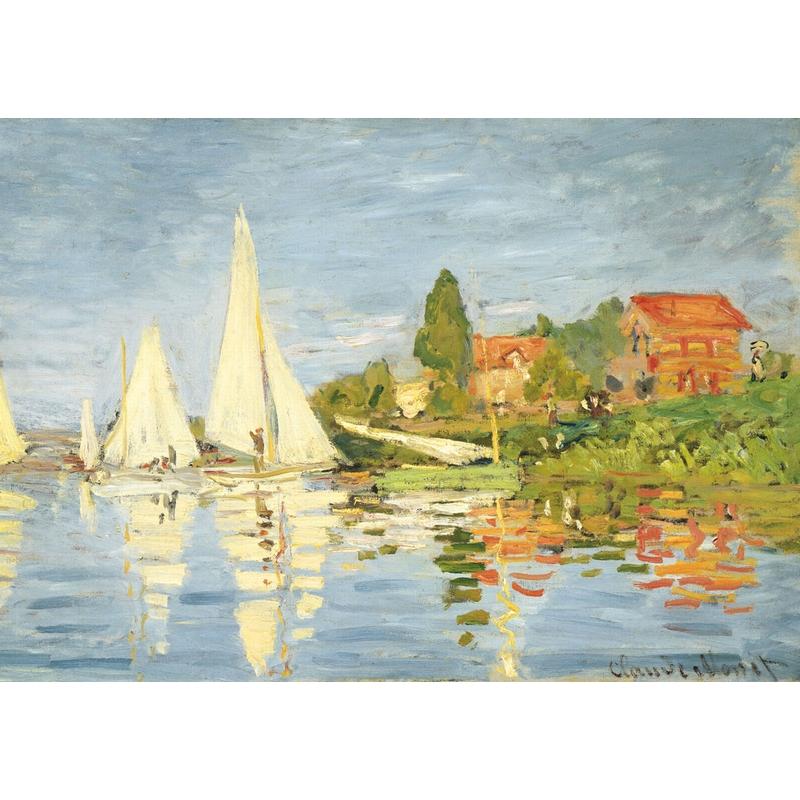 Michèle Wilson - Régates à Argenteuil de Monet