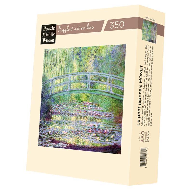 Michèle Wilson - Le pont japonais de Monet