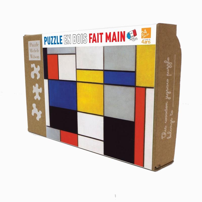 Michèle Wilson - Composition 123 de Mondrian