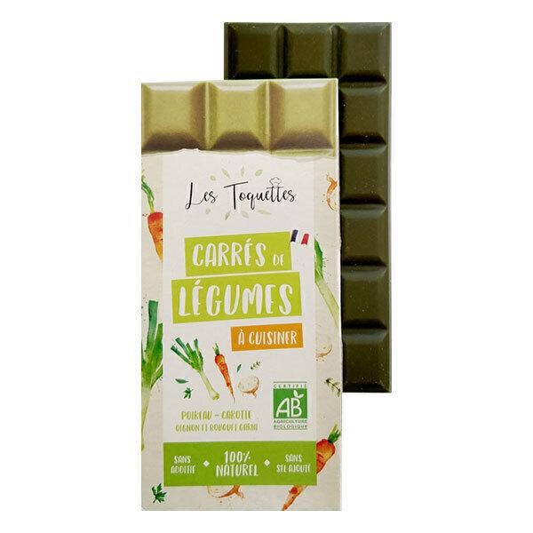 Les Toquettes - Carrés de légumes poireau carotte oignon et bouquet garni 75g