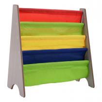 Costway - Bibliothèque pour enfant en bois 62 x 26 x 60 cm colorée