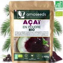 amoseeds - Açaï en Poudre Bio 100G