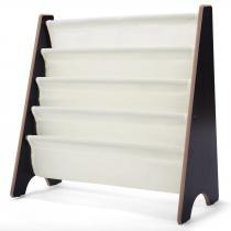 Costway - Bibliothèque pour enfant en bois 62 x 26 x 60 cm blanche