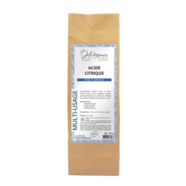 Joli'Essence - Acide Citrique Contenance - 500 g