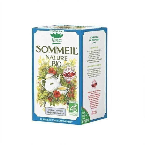 Romon Nature - Tisane Sommeil nature bio - 20 sachets