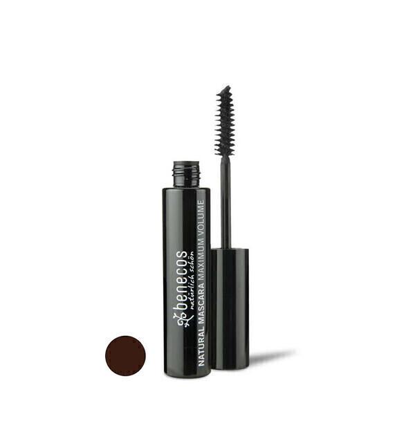 Benecos - Mascara Maxi Volume Bio 8ml - Marron - Benecos