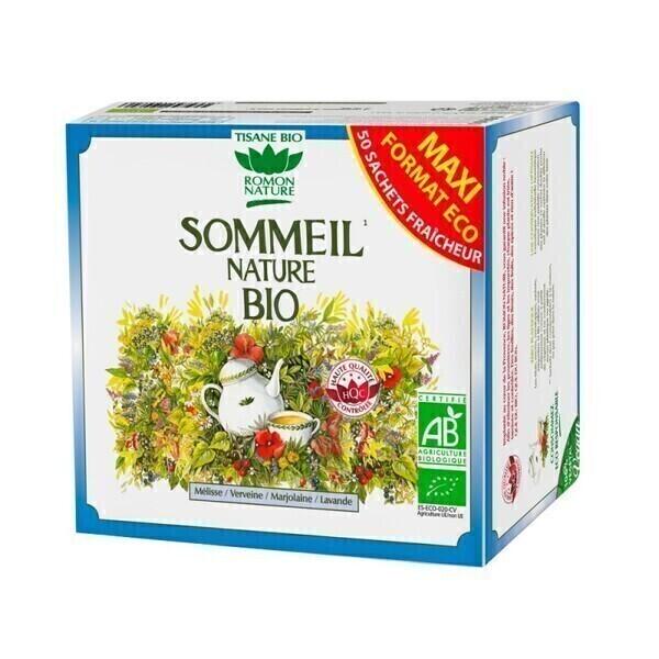Romon Nature - Tisane Sommeil Nature bio - 50 sachets
