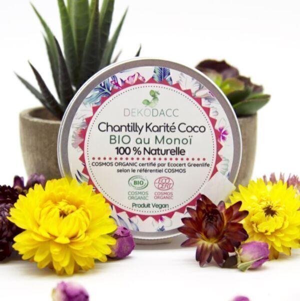 Dekodacc - Chantilly Karité Coco Bio* et vegan au Monoï