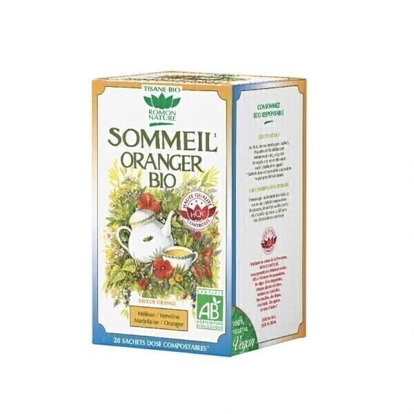 Romon Nature - Tisane Sommeil oranger bio - 20 sachets