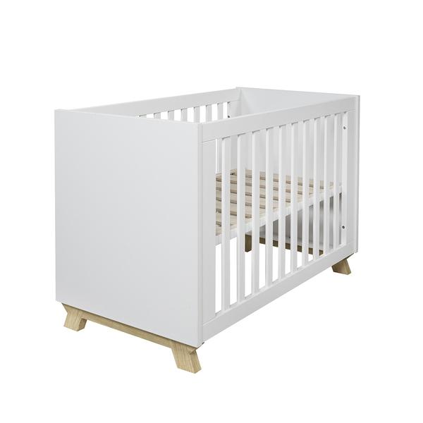 Ikid - Lit bébé 60x120 Veneto - Blanc