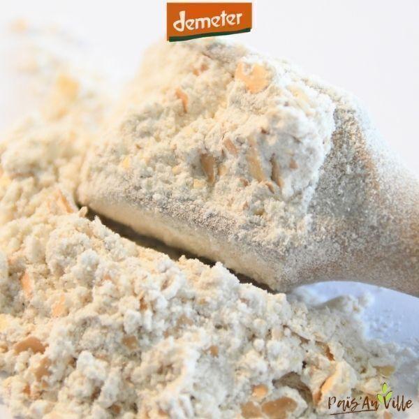 Païs'an Ville - Farine IG bas intégrale Demeter de blé ancien 1 kg