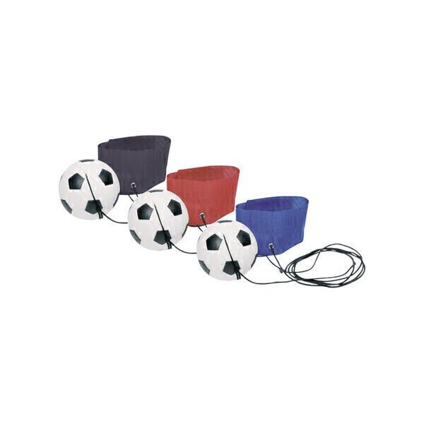 Goki - Balle de football à main avec élastique
