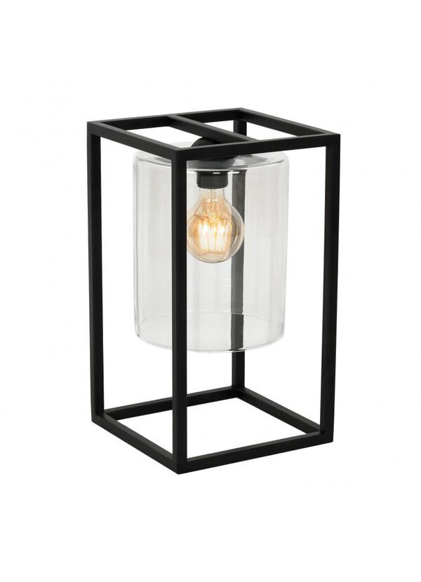 Grenier Alpin - Lampe à poser rectangle métal noir
