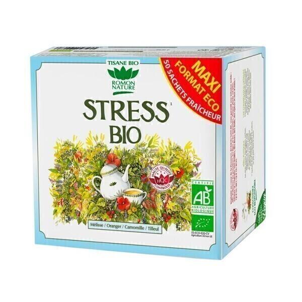 Romon Nature - Tisane Stress bio - 50 sachets