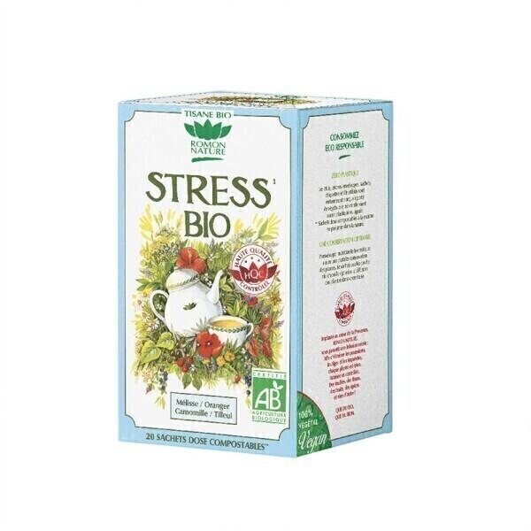 Romon Nature - Tisane Stress bio - 20 sachets