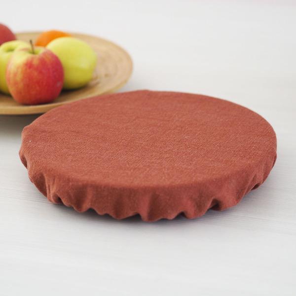 Ozero - Grand recouvre plat réutilisable Ozéro Terracotta