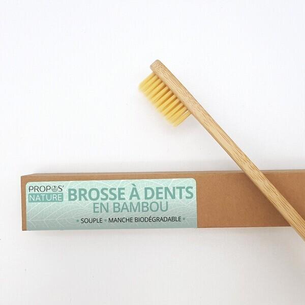 Propos'Nature - Brosse à dents en bambou