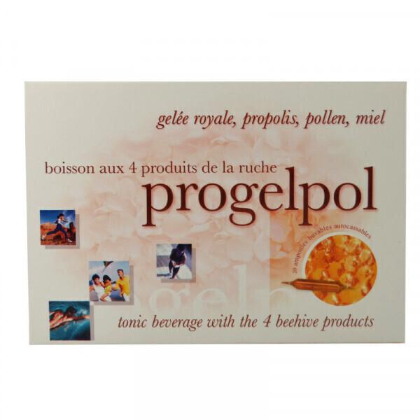 Jolivia - Progelpol à la Gelée Royale, Propolis, Pollen et Miel - 20 amp