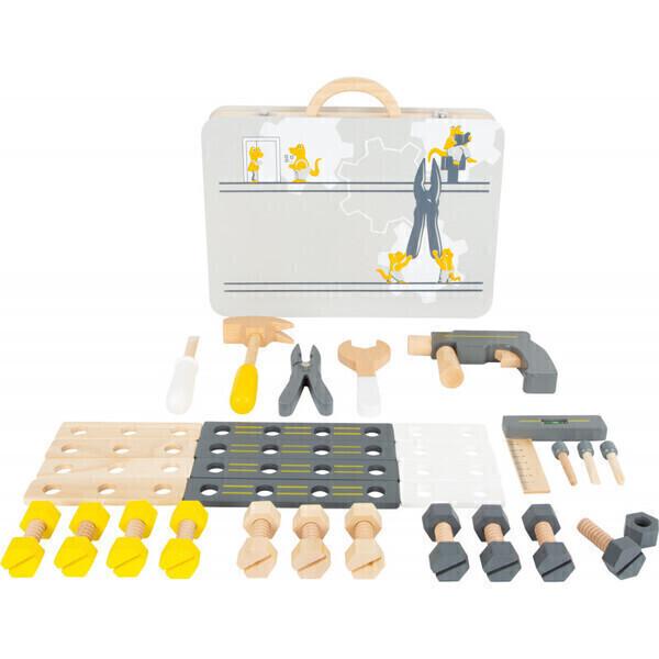 Small Foot - Boîte à outils pour enfant 44 pièces