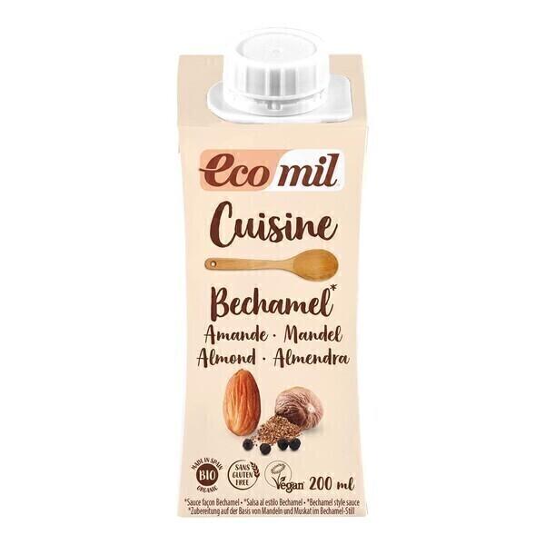 EcoMil - Crème Cuisine Amandes façon Béchamel 200ml Bio