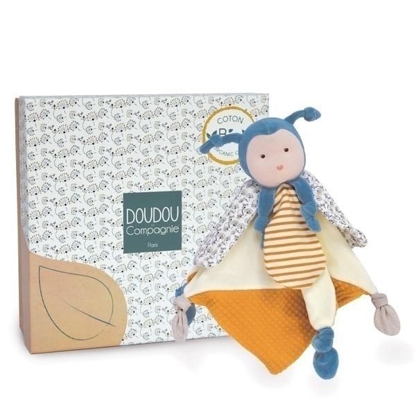 Doudou et Compagnie - Doudou Pollen L'Abeille Bio