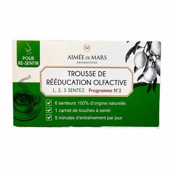 Aimée de Mars - 1, 2, 3, Sentez-Trousse de rééducation olfactive-Programme 2