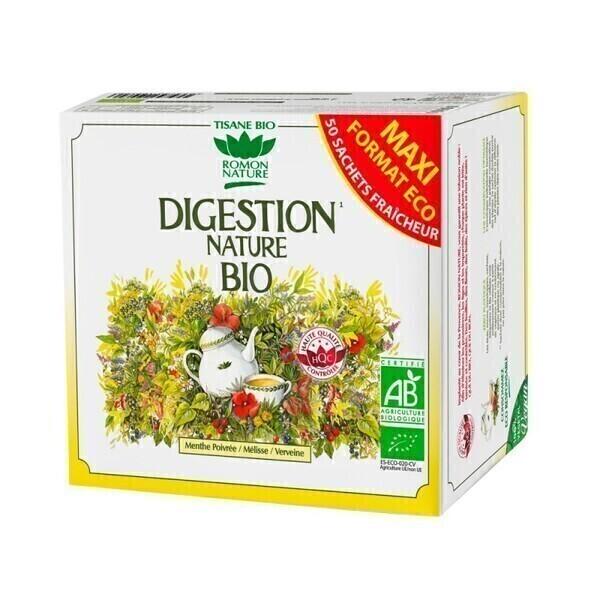 Romon Nature - Tisane Digestion nature bio - 50 sachets