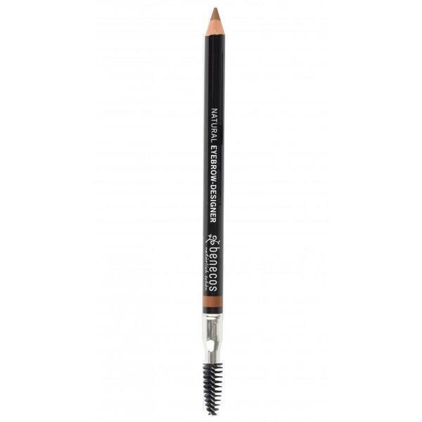 Benecos - BENECOS Brosse et Crayon à Sourcils - Natural Eyebrow Designer