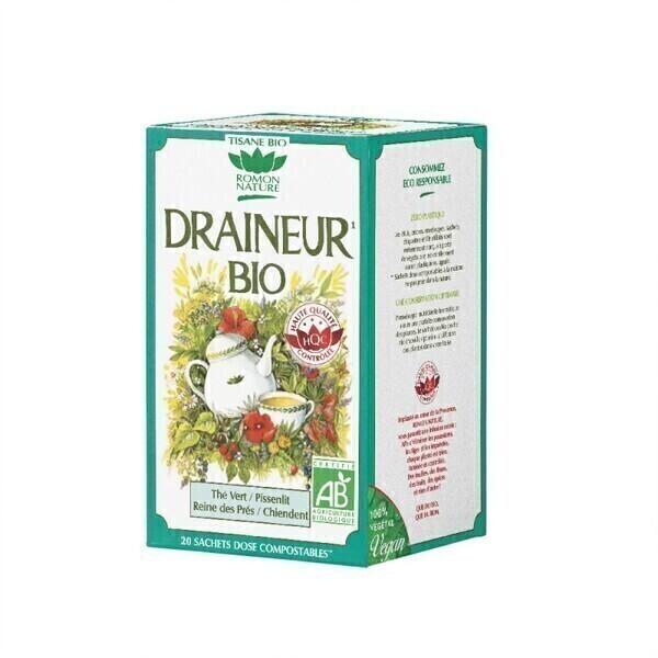 Romon Nature - Tisane Draineur bio - 20 sachets