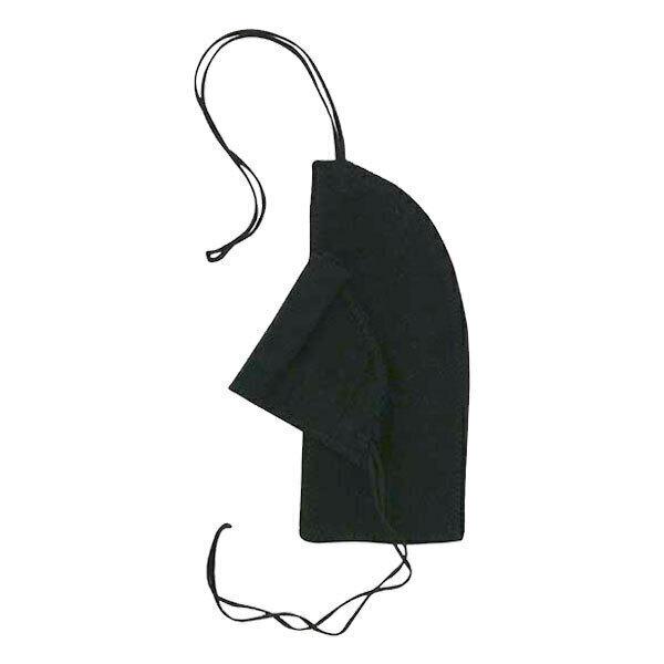Imsevimse - Lot 8 tampons lavables naturels en coton noir flux mini