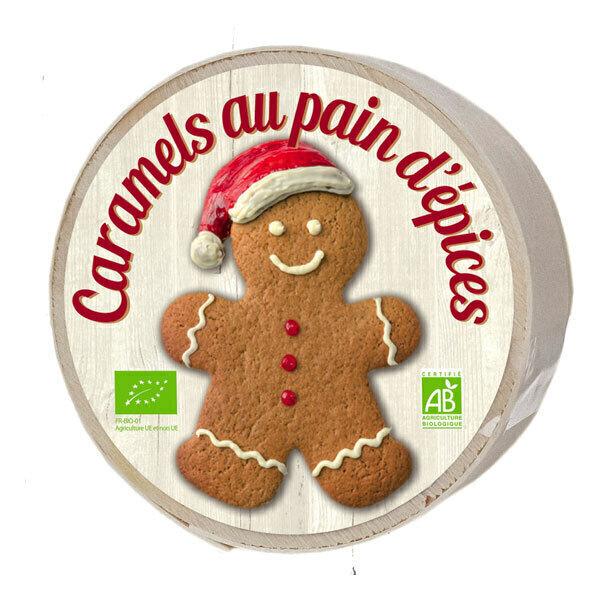 La Maison d'Armorine / Mam Bio - Caramels au pain d'épice - Mini boîte 50g