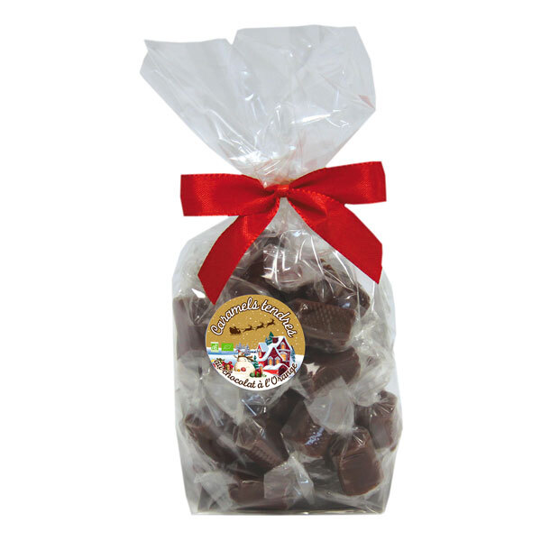 La Maison d'Armorine / Mam Bio - Caramels tendres chocolat et orange 150g
