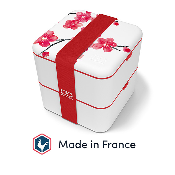 monbento - Bento carré MB Square Made in France Blossom 1,7L