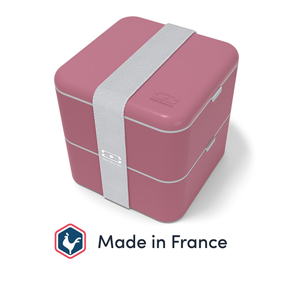 monbento - Bento carré MB Square Made in France Blush 1,7L